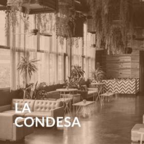 Interior of La Condesa